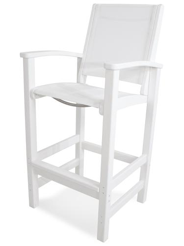 Superb Polywood Coastal Bar Height Dining Patio Chair At Menards Dailytribune Chair Design For Home Dailytribuneorg