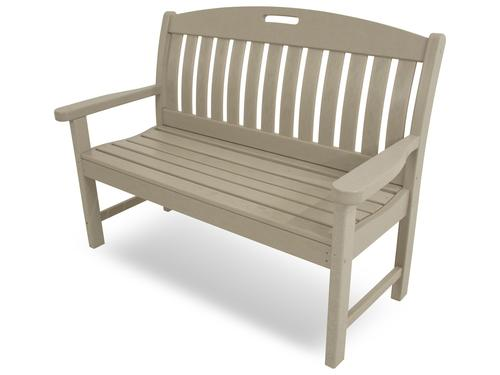 Polywood Nautical 48 Quot Outdoor Bench At Menards 174