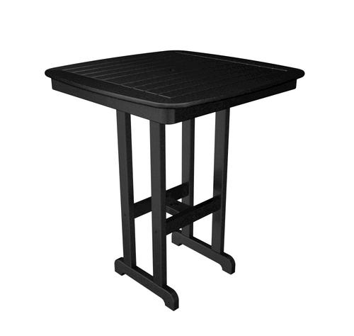 Polywood Nautical 37 Square Bar Height Dining Patio Table At Menards