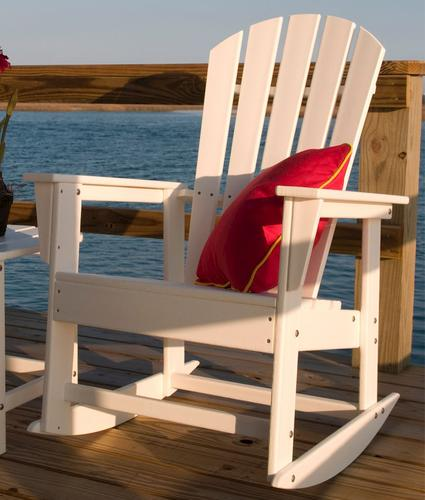 Polywood South Beach Rocking Patio Chair