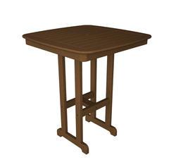 nautical bar decor.htm polywood nautical 37  square bar height dining patio table at menards    square bar height dining patio table