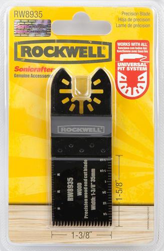 "30 x 1-3//8/"" Bi-Metal Rockwell Sonicrafter Fitting Oscillating Tool Blades"