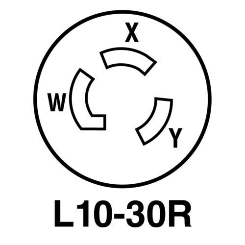 legrand turnlok black white 30 125 250 volt locking connector Receptacle Types Chart legrand turnlok black white 30 125 250 volt locking connector at menards