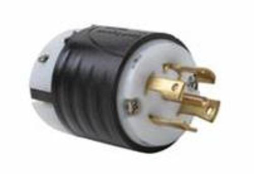 legrand® turnlok® black/white 30-amp 3-phase y 277/