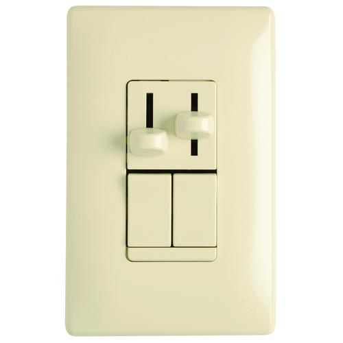 Legrand® Combination 300W CFL/LED Dimmer 1 6A Fan Control at Menards®