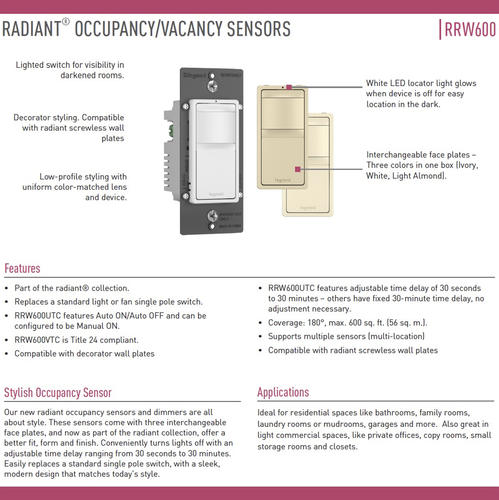 Legrand Radiant Dimmer Switch Wiring Diagram
