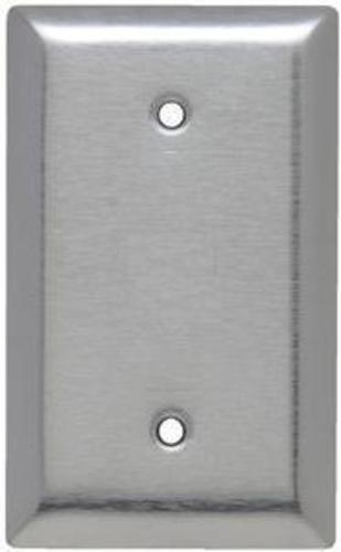 Legrand 174 430 Stainless Steel Blank Box Mounted Wall Plate