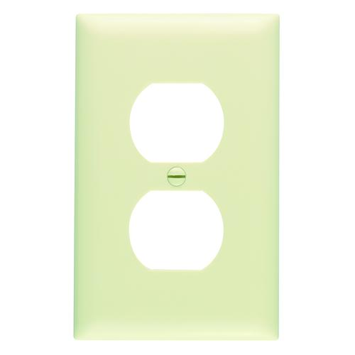 Legrand Trademaster 1 Gang Duplex Outlet Wall Plate At Menards