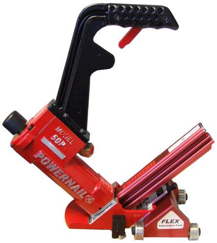 Powernail® Flex Power Roller 18-Gauge Pneumatic Hardwood Flooring Cleat Nailer