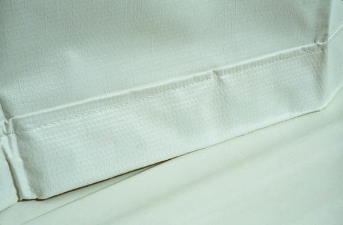 54 X 72 Vinyl Curtain White