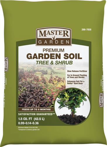 Master Garden Premium Soil For Trees And Shrubs 1 5 Cu Ft At Menards