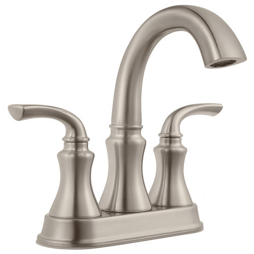Pfister Solita Two Handle 4 Centerset Bathroom Faucet Brushed