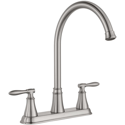 Pfister Glenora Two Handle Stainless Kitchen Faucet