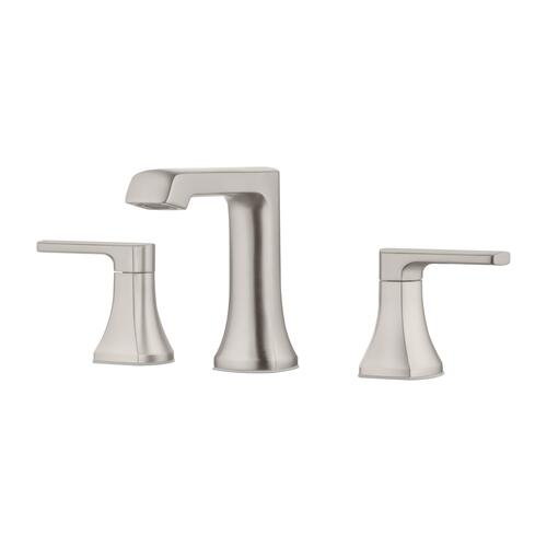 Pfister Bathroom Faucets   Pfister Penn Two Handle 8 Widespread Bathroom Faucet In Spot