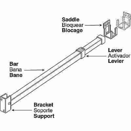 Prime-Line® Sliding Patio Door Security Bar at Menards®