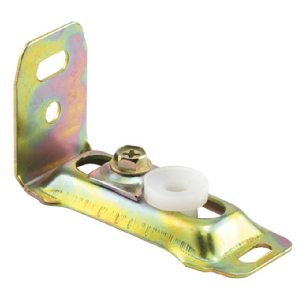 Blue Bushing 3//8 In Plastic w//Steel Plate Prime-Line MP3786 Spiral Balance Pivot Lock Shoe Pack of 2 2 Piece