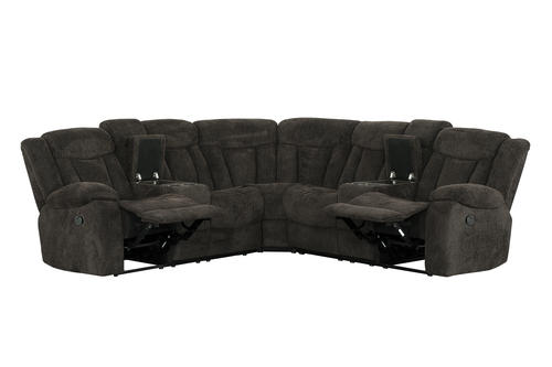 Bryndle 3-Piece Reclining Sectional at Menards®