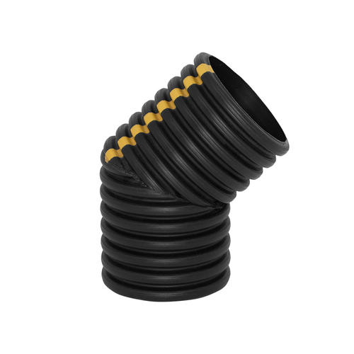 8 Quot Corrugated Drain Tile Dual Wall 45 Degree Elbow At Menards 174