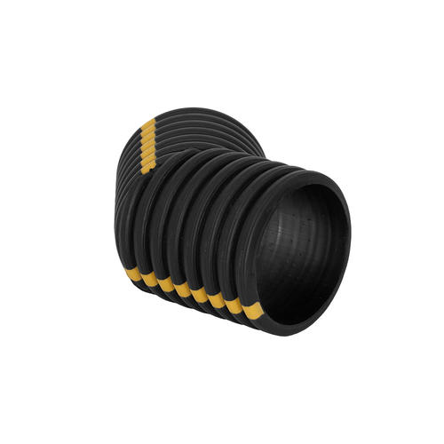 8 Quot Corrugated Drain Tile Dual Wall 45 Degree Elbow At