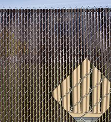 Ez Slat 6 Single Wall Chain Link Fence Slats At Menards 174