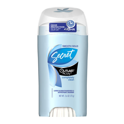 Secret Outlast with Olay Completely Clean Soft Solid Antiperspirant