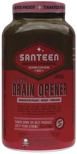 Santeen 100% Pure Lye Crystal Drain Opener - 16 oz  at Menards®