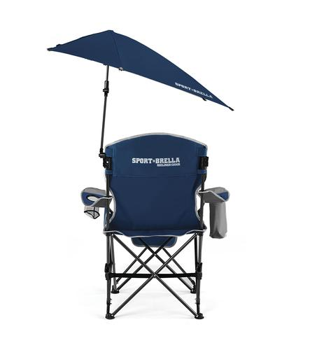 Guidesman™ Sport Brella Recliner Chair With Canopy And Footrest At Menards®