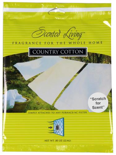 Superb Scented Living™ Cotton Furnace Filter Scent Pad At Menards®