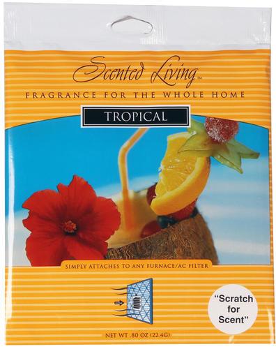 Elegant Scented Living™ Tropical Furnace Filter Scent Pad At Menards®