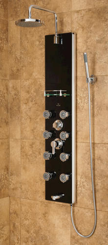 PULSE ShowerSpas Glass Shower Panel - Makena II ShowerSpa at
