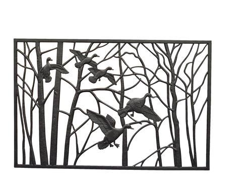 decorative deck railing panels wrought iron panel fence.htm pure glory 68 w x 29 h cast iron railing panel at menards    cast iron railing panel at menards