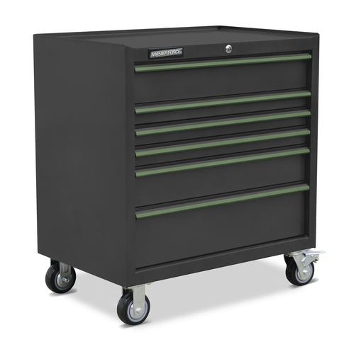 great tool storage 32 US Pro tools Single Top Tool Box Chest Black 6 drawers