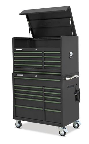Masterforce 41 X 24 19 Drawer Mobile Tool Chest Cabinet Combo At Menards