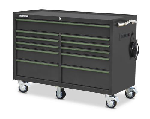 """masterforce® 56"""" x 24"""" 11-drawer tool cabinet at menards®"""
