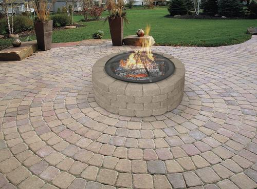 Round Fire Pit Spark Screen At Menards