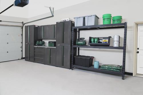 Gunmetal 9 Piece Garage