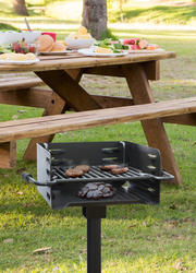 backyard creations 22 park style charcoal grill at menards. Black Bedroom Furniture Sets. Home Design Ideas