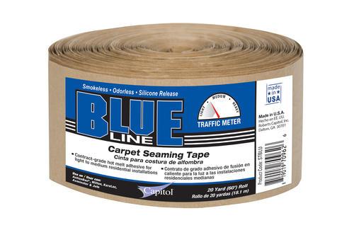 Capitol 174 Blueline 3 Quot X 60 Hot Melt Carpet Seaming Tape At