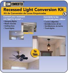 Recessed Light Conversion Kit