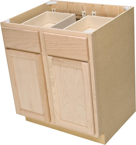White Kitchen Cabinets At Menards: Quality One™ Double Kitchen Base Cabinet At Menards®