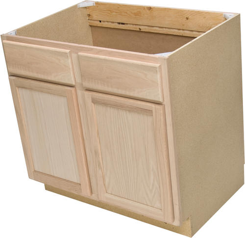 "Quality One™ 36"" X 34-1/2"" Sink Kitchen Base Cabinet At Menards®"