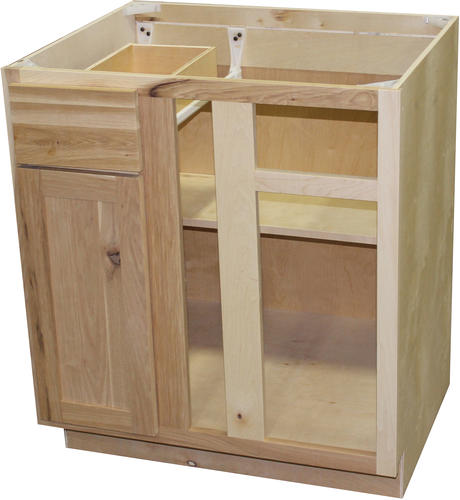Quality One 36 X 34 1 2 Blind Kitchen Corner Base Cabinet At Menards
