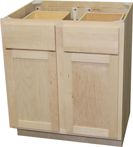 Buy Unfinished Kitchen Cabinet Doors: Quality One™ Double Kitchen Base Cabinet At Menards®