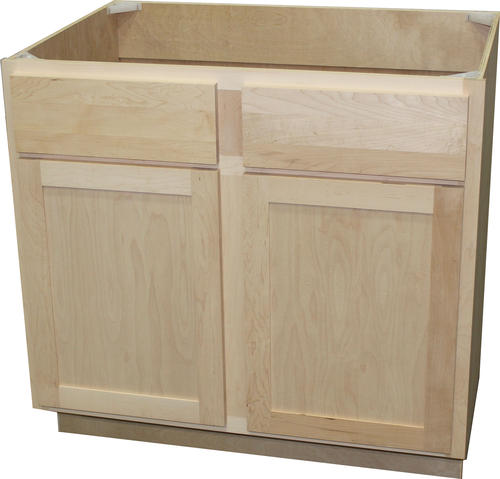 "Buying Unfinished Kitchen Cabinets: Quality One™ 36"" X 34-1/2"" Sink Kitchen Base Cabinet At"