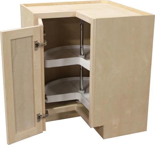 Quality One 36 X 34 1 2 Lazy Susan Kitchen Base Cabinet