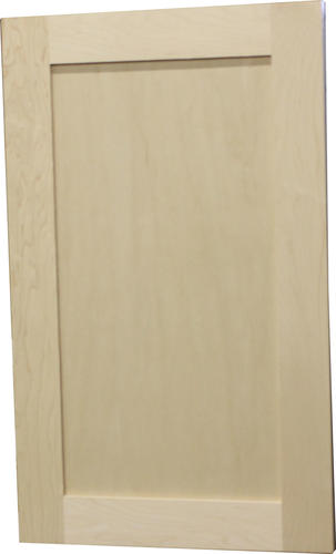 Quality One™ Unfinished Maple Square Recessed Panel Cabinet Door At Menards®