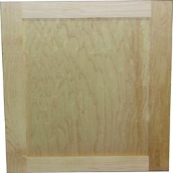 Quality One™ Unfinished Maple Square Recessed Panel ...