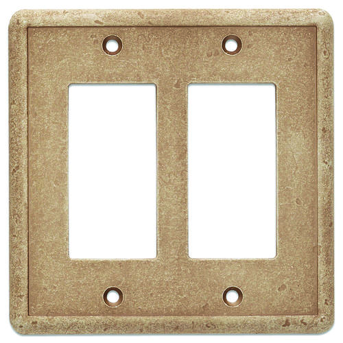 decorative light switches.htm weybridge    cast stone noche double decor wall plate at menards    noche double decor wall plate