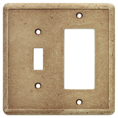 decorative light switches.htm weybridge    cast stone noche decor toggle wall plate at menards    noche decor toggle wall plate