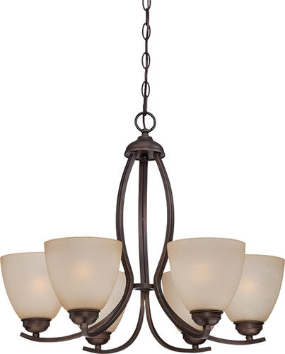 Patriot LightingR Maleah 24 1 2 Bronze 6 Light Chandelier At MenardsR